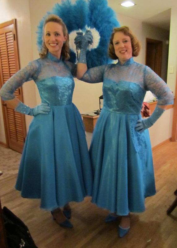 sisters jpg White Christmas Movie Dresses