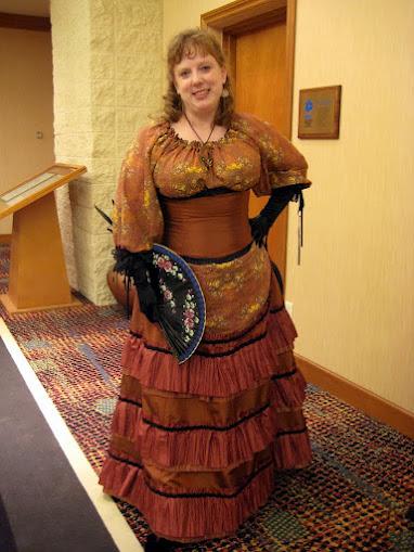 Steampunk Saloon Girl.