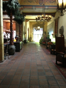 Lobby of the Hotel Figueroa