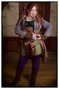 Steampunk Derby Girl!  Photo by Jim Jordan