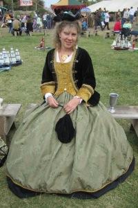 The Lovely Ellen at the Minnesota Renaissance Festival for Wenchlandia.