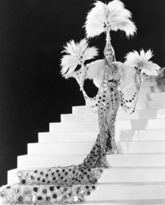 Costume by Gilbert Adrian for The Great Ziegfeld directed by Robert Z Leonard, 1936