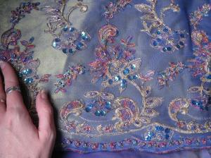 Photo stolen from Lis Kester's blog because she and I bought the same fabric and she has a better photo.  Thanks Lis!