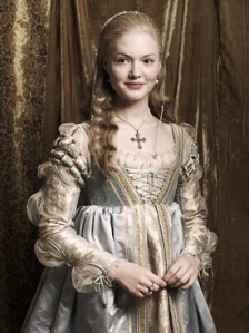 "Holiday Granger as Lucrezia Borgia in Showtime's ""Borgias."""