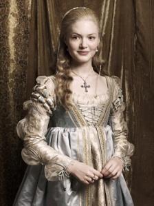 "Holiday Granger as Lucrezia Borgia in Showtime's ""Borgias."""