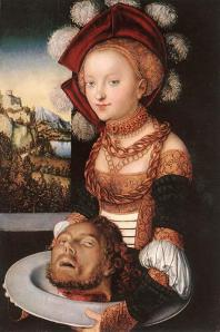 Salome, Lucas Cranach the Elder, 1530.