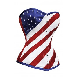 Flag of the United States corset.  http://www.corset-story.com