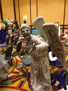 A really excellent Weeping Angel who won a TON of awards.  She even made her own TEETH.