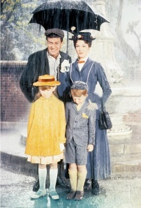 Julie Andrews as Mary Poppins.  Copyright Disney.