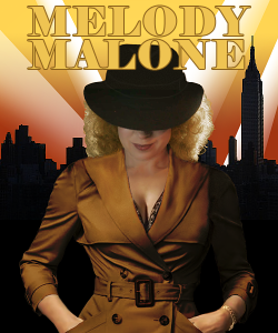 """River Song as Melody Malone, Doctor Who, """"The Angels Take Manhattan.""""  Copyright BBC TV."""