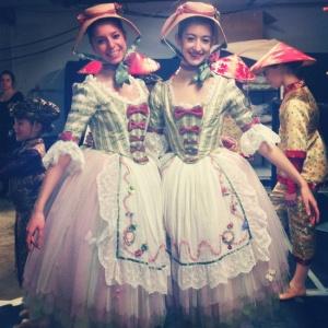 Boston Ballet's Nutcracker 2012 - Shepherdess.