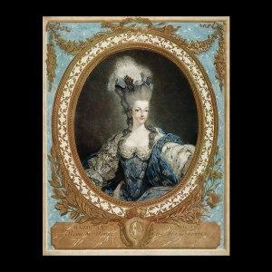 Marie Antoinette, Dagoty.  Versailles, France.