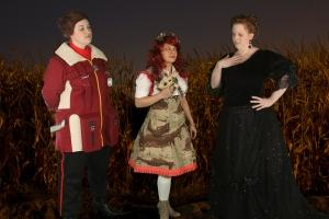 When a Vulcan, A Nerfpunk Lolita and an Edwardian Lady run into each other in a random cornfield...