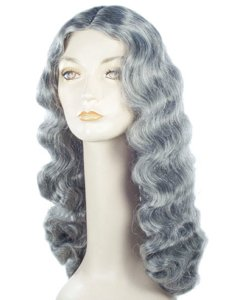 """Grandma"" 22 inch long wig.  $12.99 at Max Wigs."