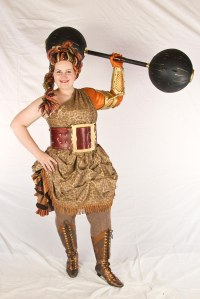 The Strongwoman!