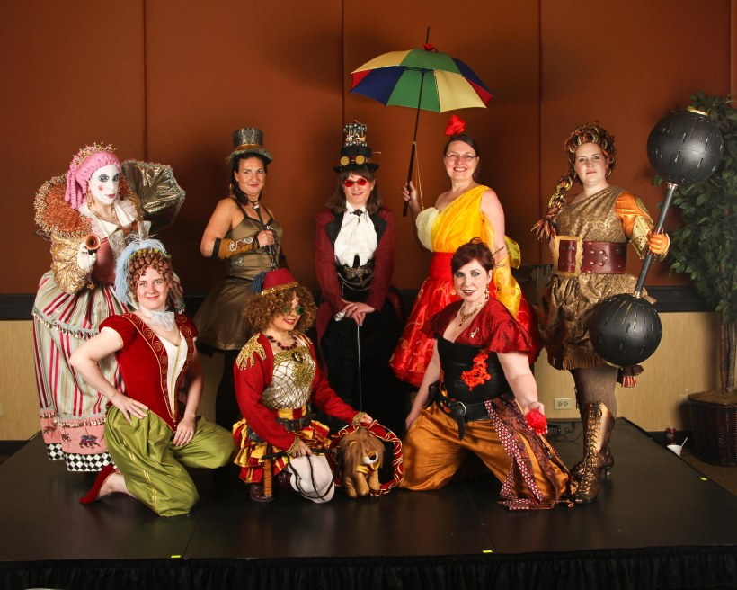 The Steampunk Circus!