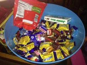 Chocolate to sustain us.