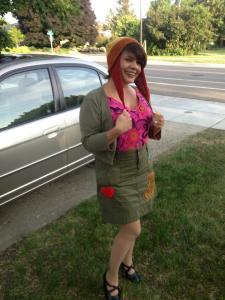 Arte as Kaylee from Firefly, reinterpreted.