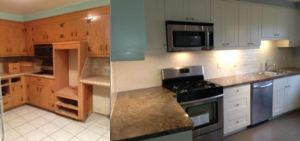 Before and After.  COMPLETELY WORTH IT.