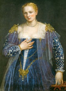Paolo Caliari Veronese Portrait of a Woman (Bella Nani) Musee du Louvre, Paris, France ca. 1557
