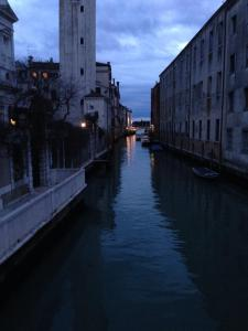 Other side of the bridge.  I think that is the Bridge of Sighs at the very end of the canal.