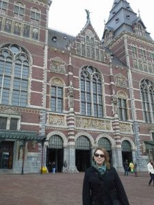Rijksmuseum.  A really gorgeous building.