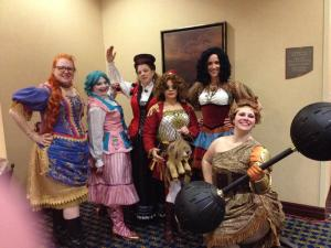 The Steampunk Circus at Costume Con 32!