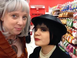 Khan and Madeline Kahn at Target.