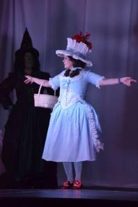 The Lovely Arte as Dorothy.